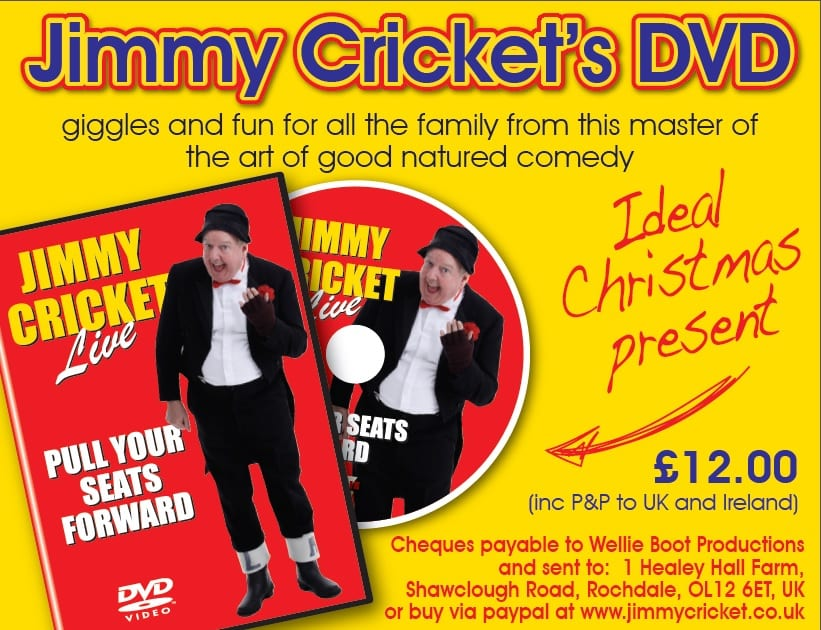 Jimmy Cricket DVD