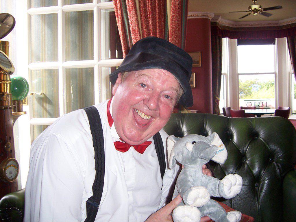 Jimmy Cricket and Lottie, Hospiscare's Lottery elephant