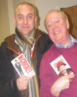 "Paul brought along copies of the ""Letters from his Mammy"" books Jimmy released in the 1980s"