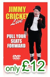 OUT NOW Jimmy Cricket Live DVD