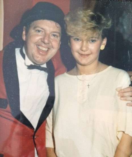 Jimmy Cricket with Clare Boulton