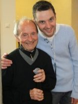 Fr Jimmy and Frankie Mulgrew, Jimmy Cricket's son