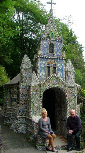 Jimmy and May visited the Little Chapel