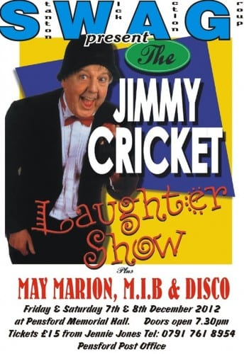 The Jimmy Cricket Laughter Show poster