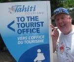 Jimmy Cricket in Tahiti