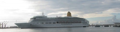 P&O's Aurora cruiseliner