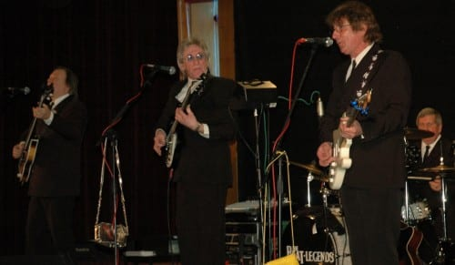 60s tribute band called the Beat Legends