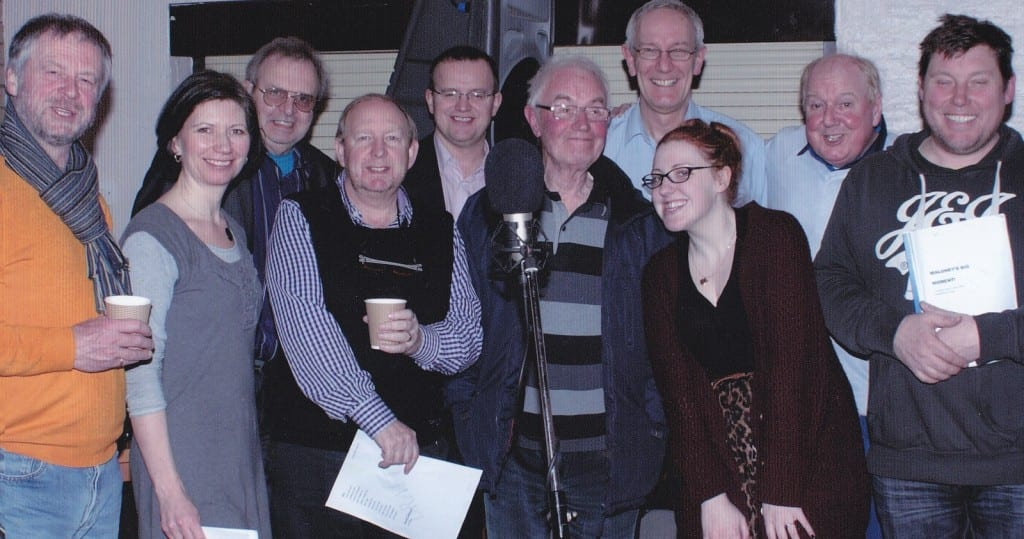 Cast in Maloney's Big Moment: Colin Meredith, Cyril Walker, Katie Mulgrew (Jimmy's daughter who is a stand-up comedian), Russell Richardson, Mark Whiteley, Steve Garner, Sarah Groarke-Booth and Jimmy Cricket