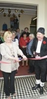 Jimmy Cricket at the relaunch of the tourist information centre in Hunstanton