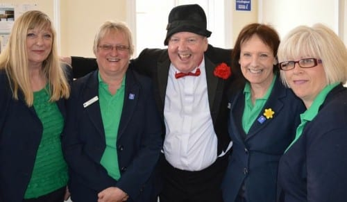 Jimmy Cricket at the relaunch of the tourist centre in Hunstanton