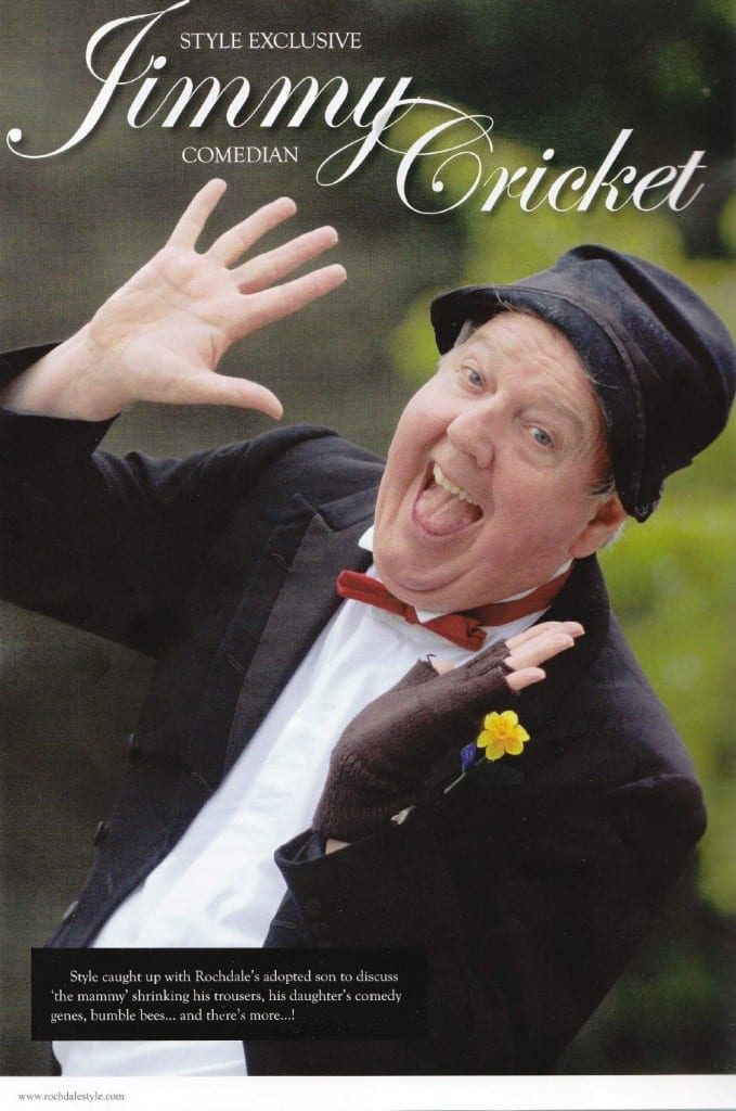 Jimmy Cricket featured in Rochdale Style