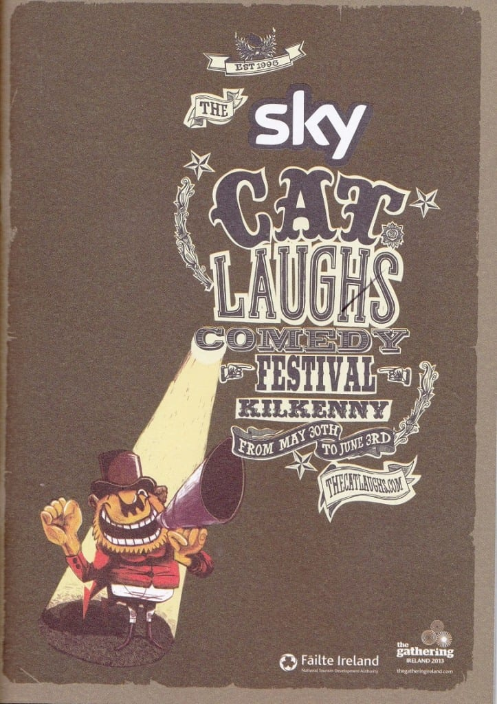 Jimmy Cricket performed at the Cat Laughs Comedy Festival