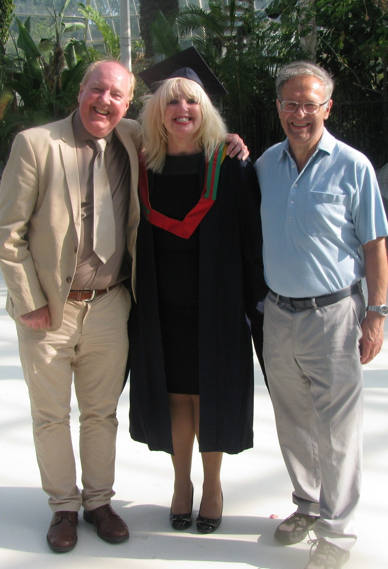May and Jimmy with their good friend Bill Lees from Liverpool