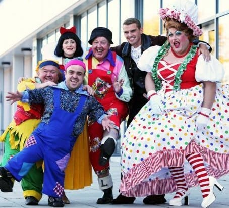 Cast members of Snow White and the Seven Dwarfs from 7 December to 5 January at the Forum Theatre in Billingham