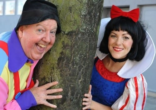 Jimmy Cricket and Victoria Holtom (Snow White)