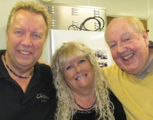Jimmy Cricket with Bob and Helen