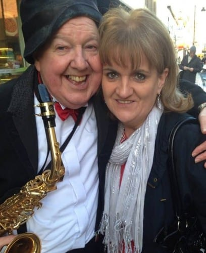 Jimmy Cricket with Annette Logan