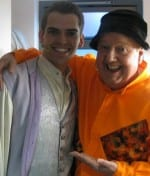 Jimmy Cricket and Kurtis Stacey