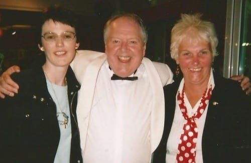 Jimmy Cricket with Tracy Hudson and Sue