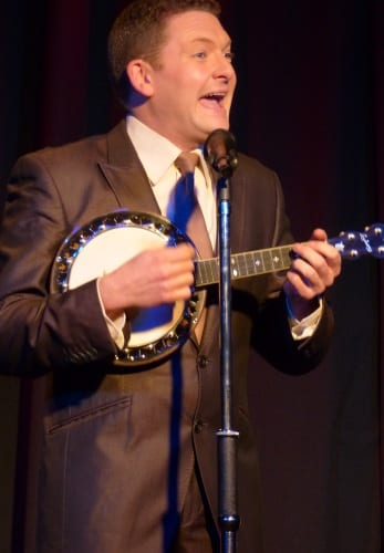 Andy Eastwood does a George Formby tribute act