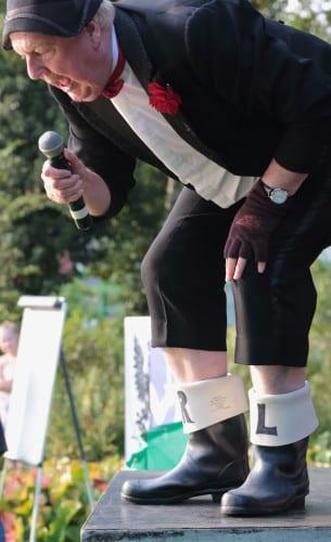 Jimmy Cricket at the Crawley Irish Festival