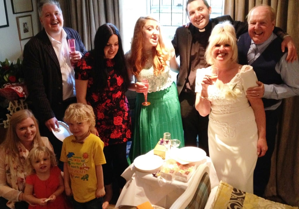 Jimmy and May Cricket celebrate their 40th wedding anniversary with all the family
