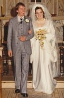 Jimmy and May Cricket got married at St Joseph's Catholic church in Bury on 25 September 1974