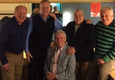 Jimmy Cricket and fellow entertainers