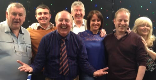 Jimmy Cricket appeared in the St Pat's event at the Freckleton Sports and Social Club