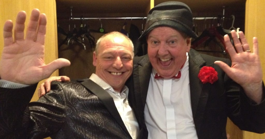 Jimmy Cricket with Michael George