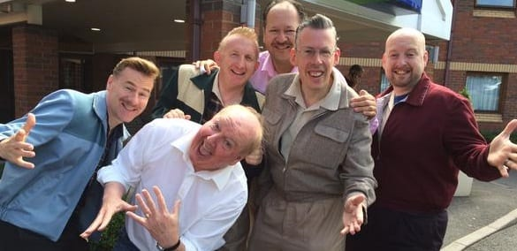 Jimmy Cricket with the Jive Aces