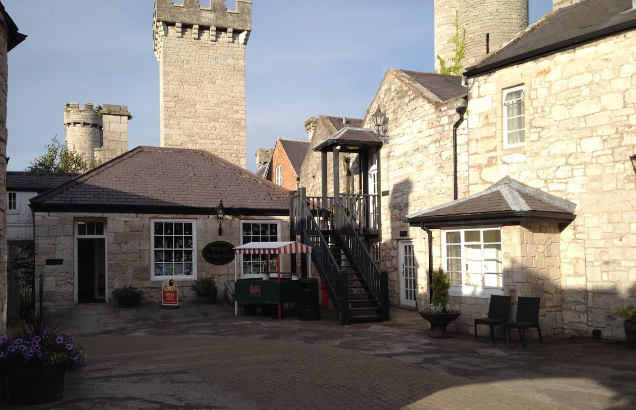 The hotel is at Bodelwyddan Castle in North Wales