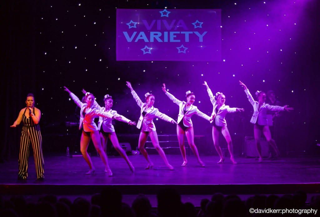Viva Variety took place at the Gaiety Theatre in Ayr
