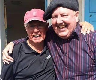 Jimmy Cricket with Paul Ogden