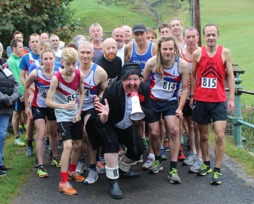 Jimmy Cricket started the race held to mark his 70th birthday
