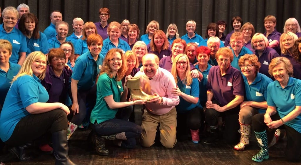 Jimmy Cricket with the Do Your Thing choir