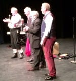 Jimmy Cricket, John Linehan (AKA May McFettridge), Gene Fitzpatrick and William Caulfield
