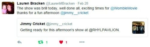 Jimmy Cricket tweet