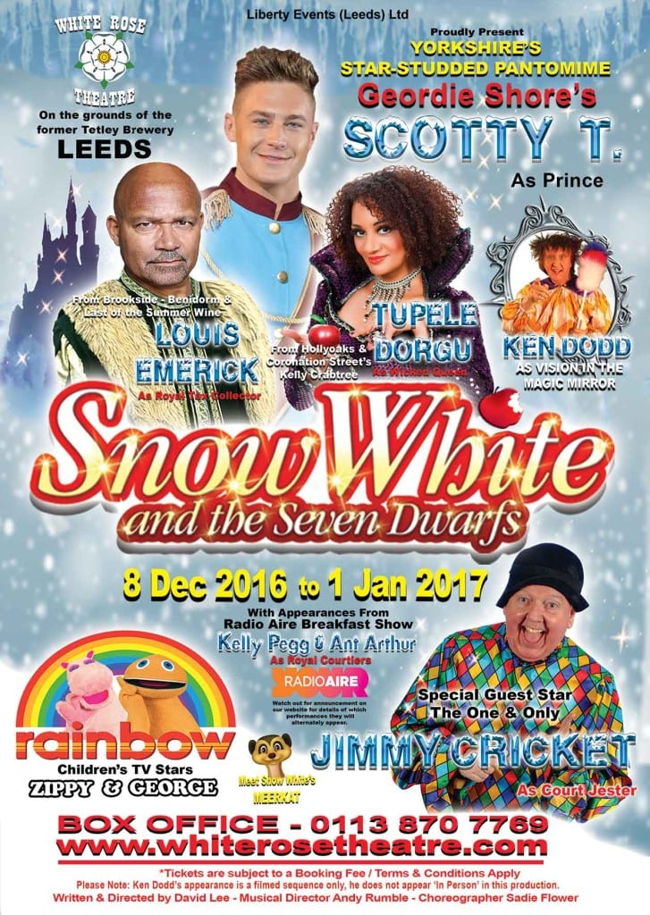 Snow White & The Seven Dwarfs @ White Rose Theatre at the Tetley | Leeds | England | United Kingdom