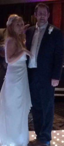 Wedding couple Joe and Phil