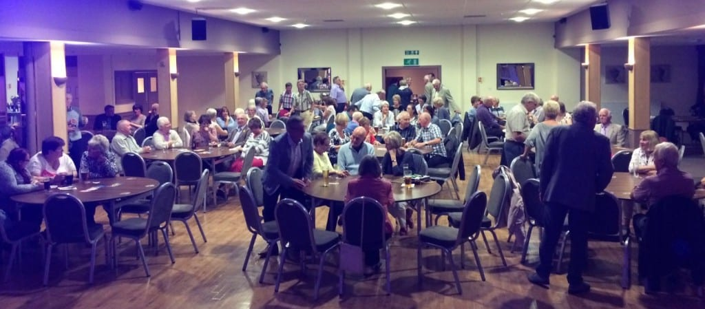 The Rotary Club of Barnoldswick & Earby fundraiser audience