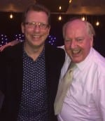 Jimmy Cricket with Paul Kerensa at the Noise Festival in Essex