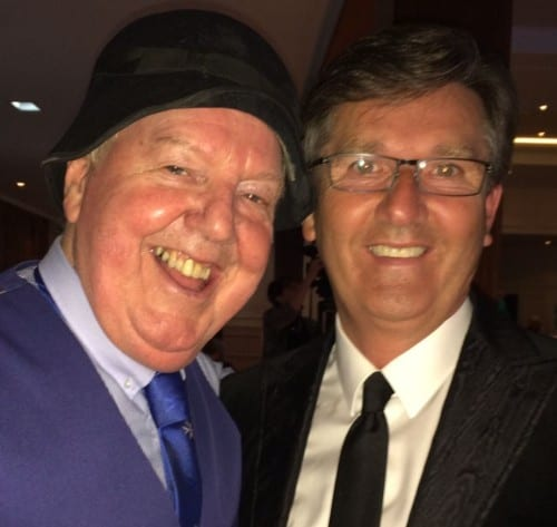 Jimmy Cricket and Daniel O'Donnell