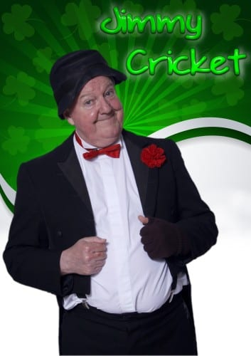 Northern Irish comedian Jimmy Cricket