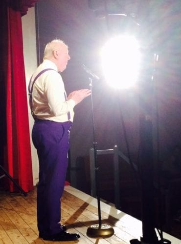 Jimmy Cricket performing in Hesketh Bank, West Lancashire