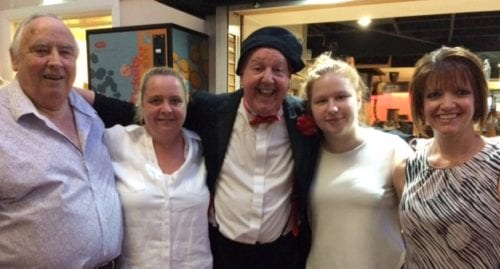 Jimmy Cricket and friends at the Royal British Legion Poppy Club in Little Common, Bexhill-on-Sea
