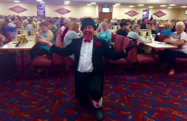 Jimmy Cricket at Apollo Bingo