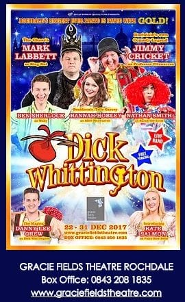 Dick Whittington panto details