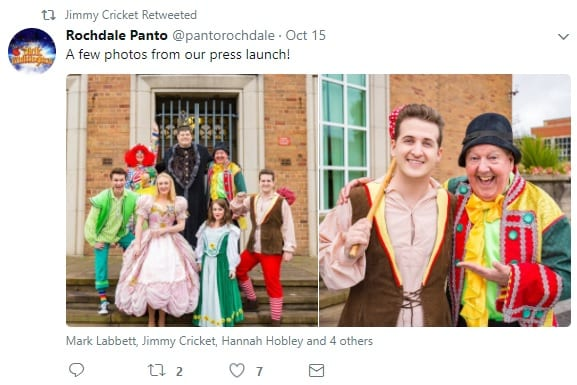 The tweet about Dick Whittington