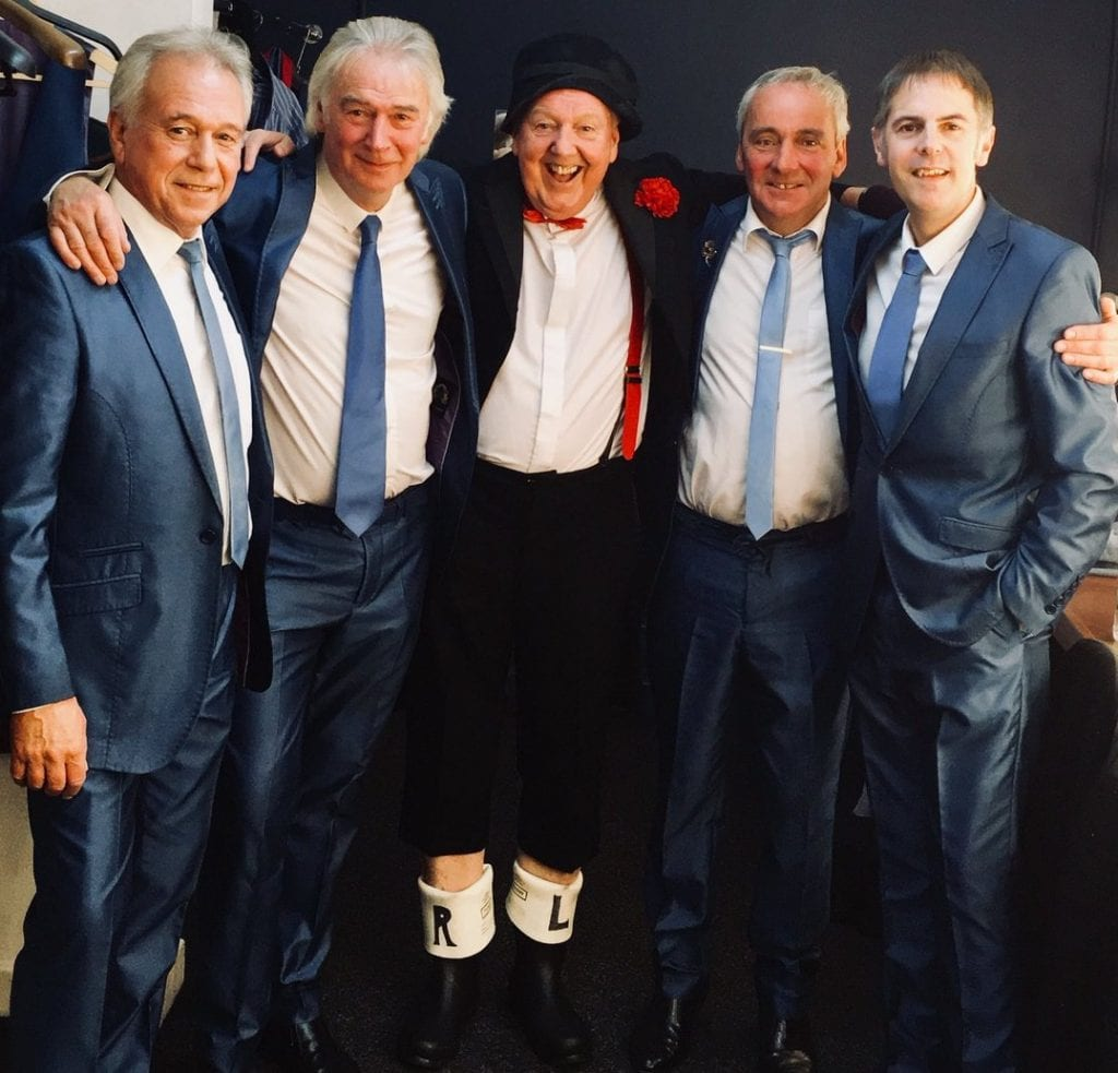 Jimmy Cricket with The Fourmost band